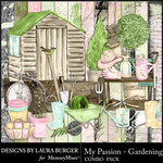 My Passion Gardening Combo Pack-$8.99 (Laura Burger)