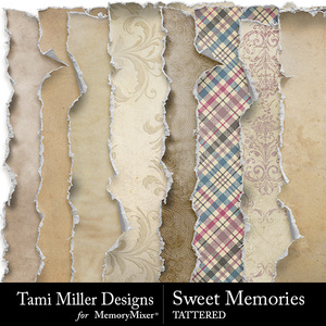 Sweet memories tattered medium