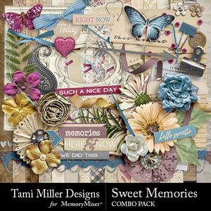 Sweet memories combo pack medium