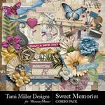 Sweet Memories Combo Pack-$7.99 (Tami Miller)