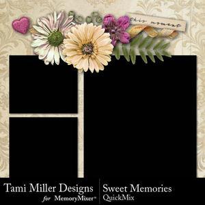 Sweet memories quick mix p001 medium