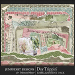Day Trippin Worn and Torn Pack-$2.40 (Jumpstart Designs)