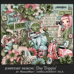 Day Trippin Embellishment Pack-$4.99 (Jumpstart Designs)