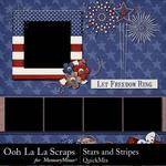 Stars and Stripes OLL QM-$3.99 (Ooh La La Scraps)