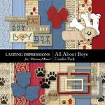 All About Boys Combo Pack-$3.99 (Lasting Impressions)