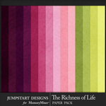 Richness of Life Solid Papers-$3.99 (Jumpstart Designs)