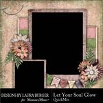 Let Your Soul Glow QM-$3.99 (Laura Burger)