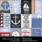 Shoreline pocket scrap cards small