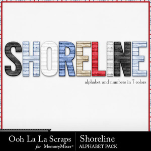 Shoreline alphabets medium