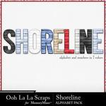 Shoreline Alphabet Pack-$3.49 (Ooh La La Scraps)