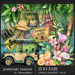 Zoofari Embellishment Pack 3-$3.99 (Jumpstart Designs)