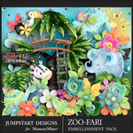 Zoofari Embellishment Pack 1-$3.99 (Jumpstart Designs)