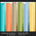 Seize the Day Basic Paper Pack-$3.99 (Jumpstart Designs)