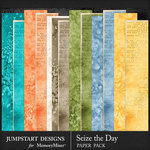 Seize the Day WC Paper Pack-$3.99 (Jumpstart Designs)