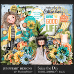 Seize the Day Embellishment Pack-$4.99 (Jumpstart Designs)