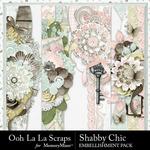 Shabby Chic Page Borders Pack-$1.99 (Ooh La La Scraps)