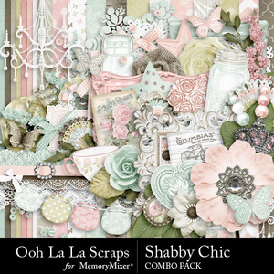 Shabby chic kit medium