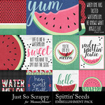 Spittin Seeds Pocket Cards Pack-$1.99 (Just So Scrappy)