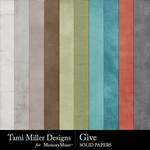 Give Solid Paper Pack-$3.99 (Tami Miller)