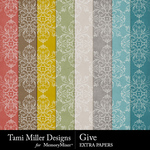 Give Extra Paper Pack-$3.99 (Tami Miller)