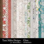 Give Paper Pack-$3.99 (Tami Miller)