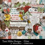 Give Combo Pack-$7.99 (Tami Miller)