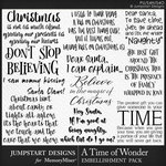 A Time of Wonder WordArt Pack-$3.99 (Jumpstart Designs)