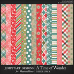 A Time of Wonder Pattern Paper Pack-$3.99 (Jumpstart Designs)