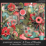 A Time of Wonder Embellishment Pack-$4.99 (Jumpstart Designs)