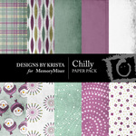 Chilly Paper Pack-$4.00 (Designs by Krista)