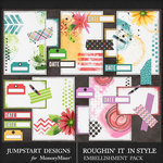 Roughin It In Style Journal Bits Pack-$3.99 (Jumpstart Designs)