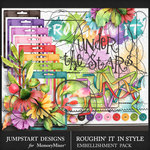 Roughin It In Style Embellishment Pack-$2.40 (Jumpstart Designs)