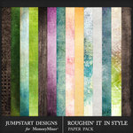 Roughin It In Style Blended Paper Pack-$3.99 (Jumpstart Designs)