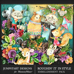 Roughin It In Style Natures Beauty Pack-$5.99 (Jumpstart Designs)