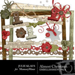 Almost Christmas Embellishment Pack-$3.00 (Julie Klaus)