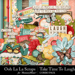 Take Time To Laugh Combo Pack-$4.99 (Ooh La La Scraps)