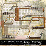 Keep Dreaming Frames and Tape Pack-$5.99 (Laura Burger)
