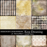 Keep Dreaming Pattern Paper Pack-$4.99 (Laura Burger)