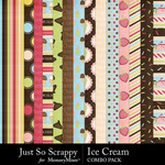 Ice cream kit papers small