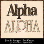 Ice cream kit alphas small