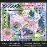 Once Upon a Summer Dream Accents Pack-$3.99 (Jumpstart Designs)
