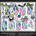 Once Upon a Summer Dream Pretty Bits Pack-$1.80 (Jumpstart Designs)