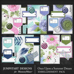 Once Upon a Summer Dream Journal Bits Pack-$1.80 (Jumpstart Designs)