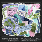 Once Upon a Summer Dream Torn Bits Pack-$2.40 (Jumpstart Designs)