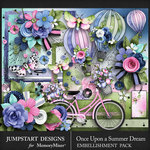 Once Upon a Summer Dream Embellishments-$4.99 (Jumpstart Designs)
