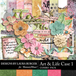 Art Life Case 1 Combo Pack-$7.99 (Laura Burger)