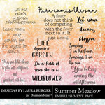 Summer Meadow WordArt Pack-$4.99 (Laura Burger)