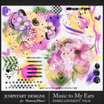 Music to My Ears Accents Pack-$2.10 (Jumpstart Designs)