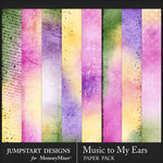 Music to My Ears Blended Paper Pack-$2.10 (Jumpstart Designs)