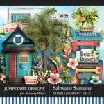 Saltwater Summer Add On Pack-$4.99 (Jumpstart Designs)